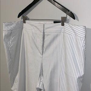 Lane Bryant Pinstripe Trousers sz 26